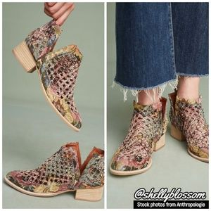 NIB Jeffrey Campbell Taggart Booties Novelty 7.5